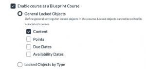 blueprint options