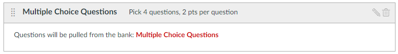 Multiple choice questions screen capture