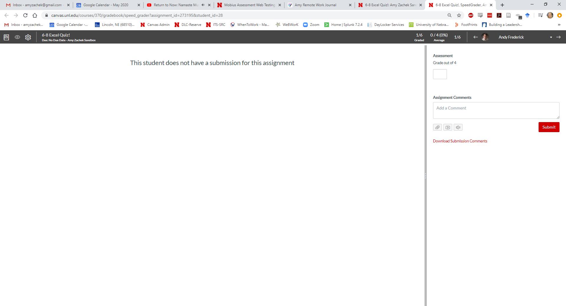 Post or hide grades screen capture