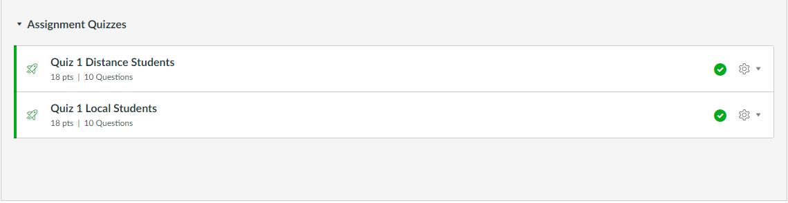 Edit quiz name screen capture